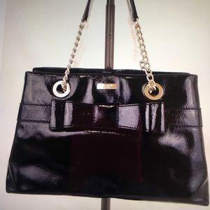 Kate Spade black Beaumont Bridge Elena bag